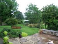 South West Wales Guest House garden